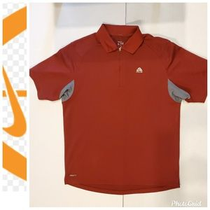 Nike ACG Fit Dry Polo Zipper Shirt Mens Medium